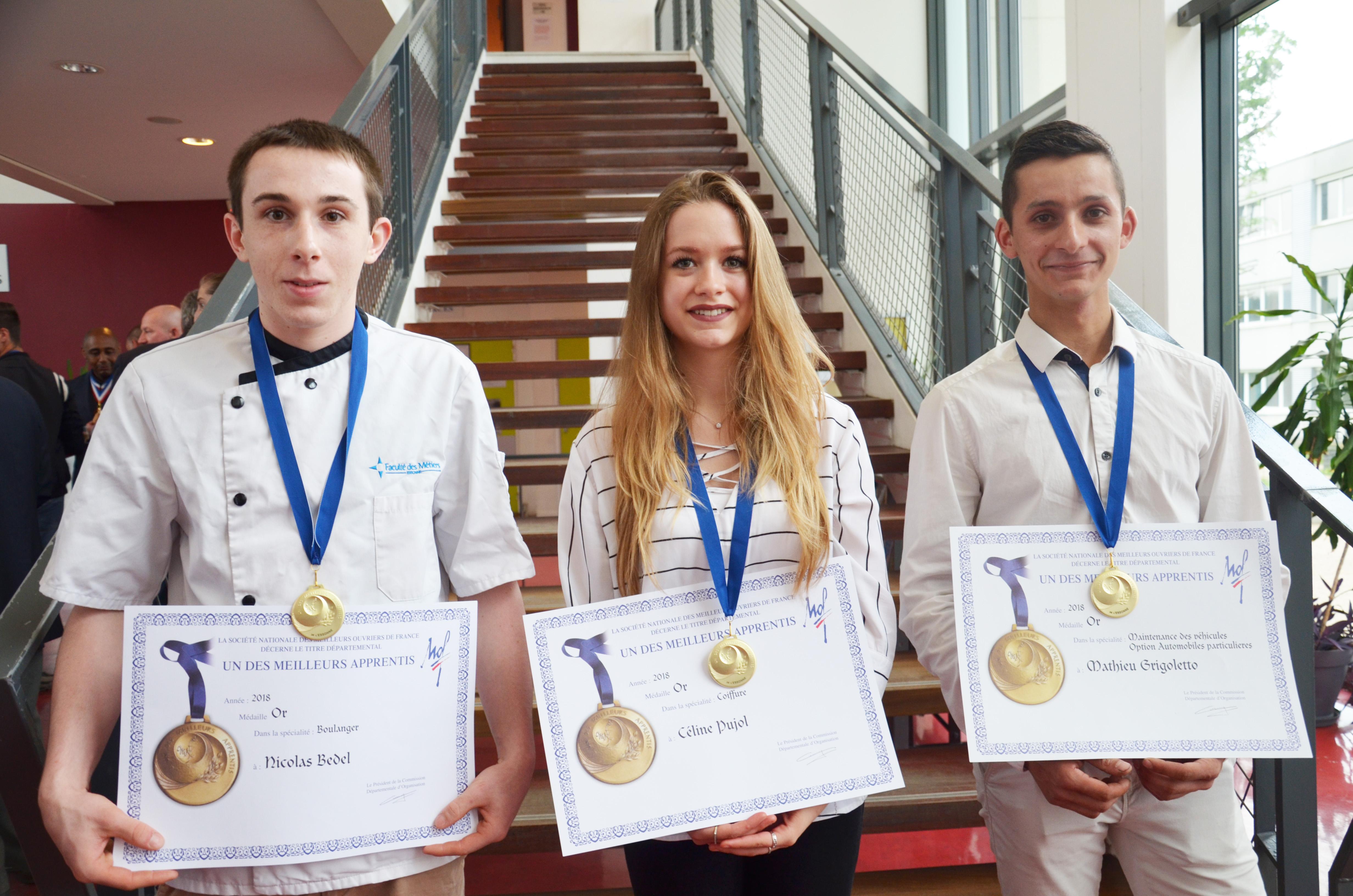 Concours MAF : trois apprentis de la FDME accèdent aux finales nationales