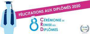 Félicitations aux diplômés FDME 2020