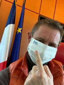 Stéphane BEAUDET Maire d\'Evry Courcouronnes