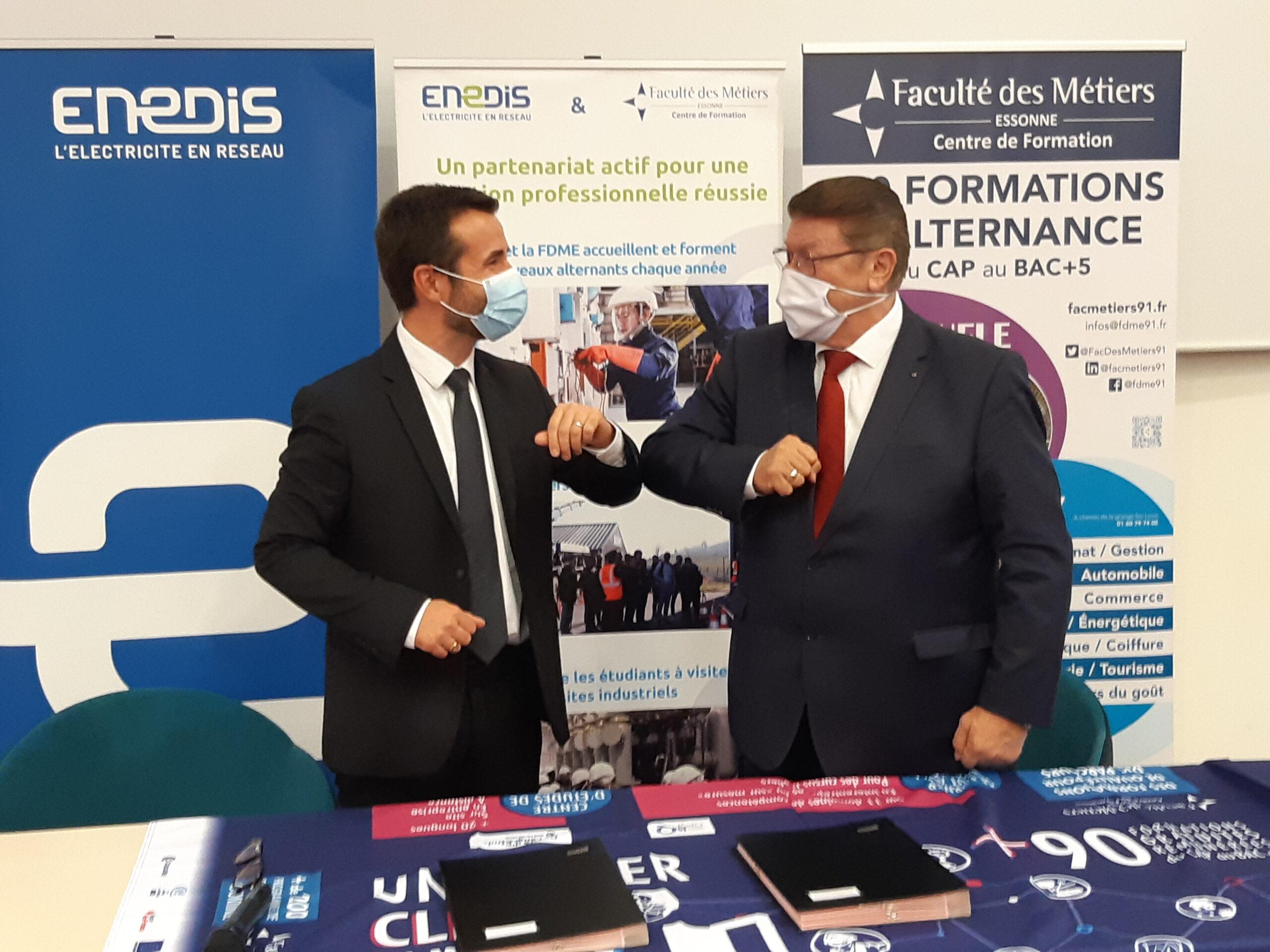 Renouvellement de convention de partenariat avec ENEDIS