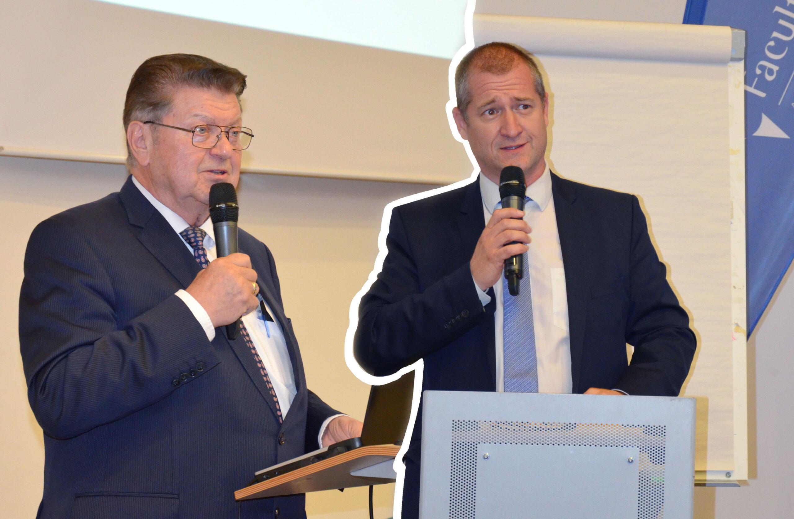 Passation de pouvoir pour la présidence : Christian THÉROND transmet le flambeau à Fabien DAURAT